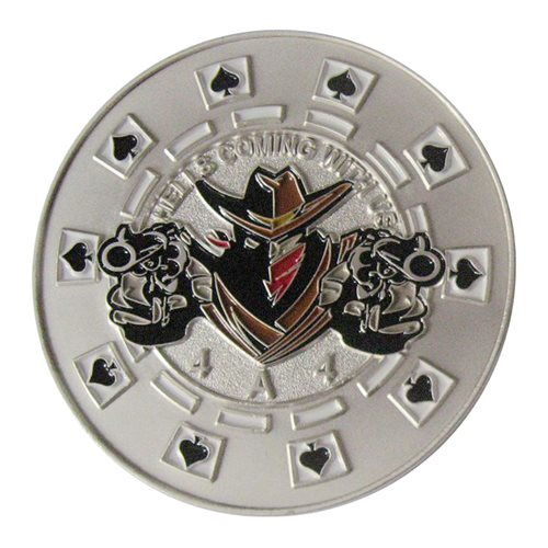 A CO 4-4 ARB Peacemakers Challenge Coin