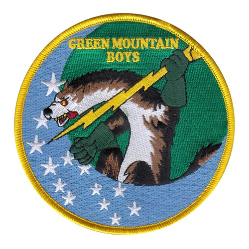 134 FS Green Mountain Boys Patch