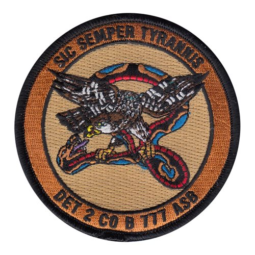 Det 2 Co B 777 Asb Patch 777th Aviation Support Battalion Patches