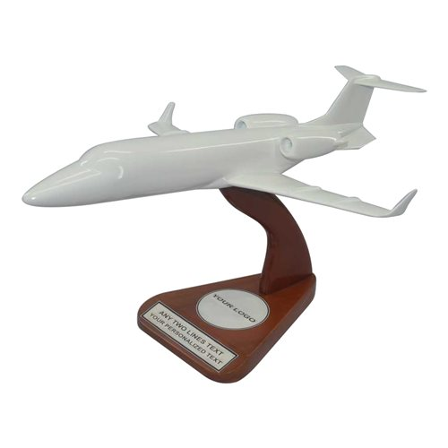 Learjet Custom Airplane Model