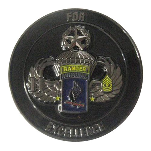 D Co 2-50 3IN 173 IBCT Challenge Coin - View 2