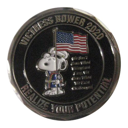 Victress Bower 2020 Challenge Coin