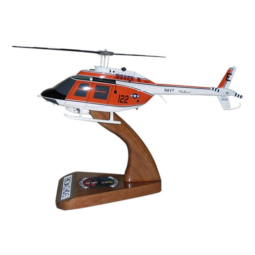 HT-28 TH-57 Custom Helicopter Model - View 2