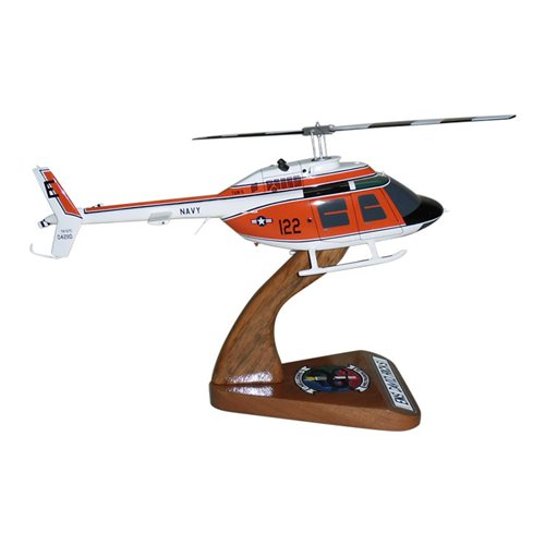 HT-28 TH-57 Custom Helicopter Model - View 4