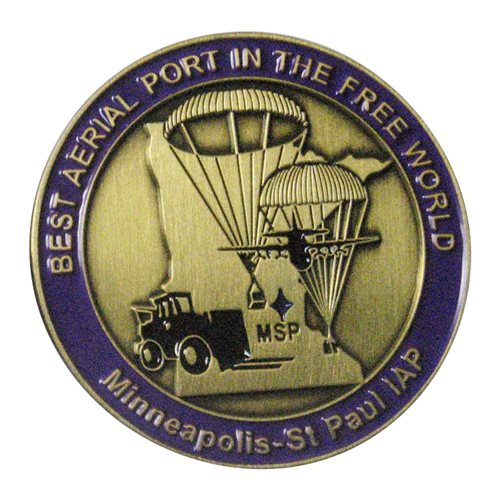 27 APS Challenge Coin - View 2