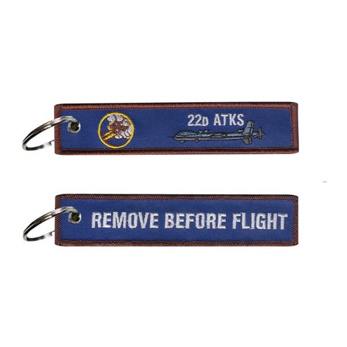 22 ATKS  MQ-9 Key Flag