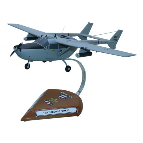 Design Your Own O-2A Skymaster Custom Airplane Model