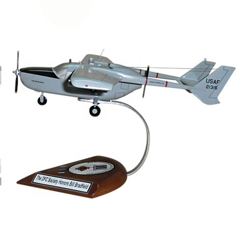20 TASS O-2A Skymaster Custom Airplane Model  - View 2