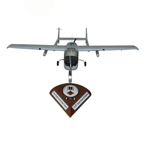 20 TASS O-2A Skymaster Custom Airplane Model  - View 3