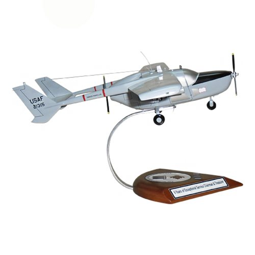 20 TASS O-2A Skymaster Custom Airplane Model  - View 4