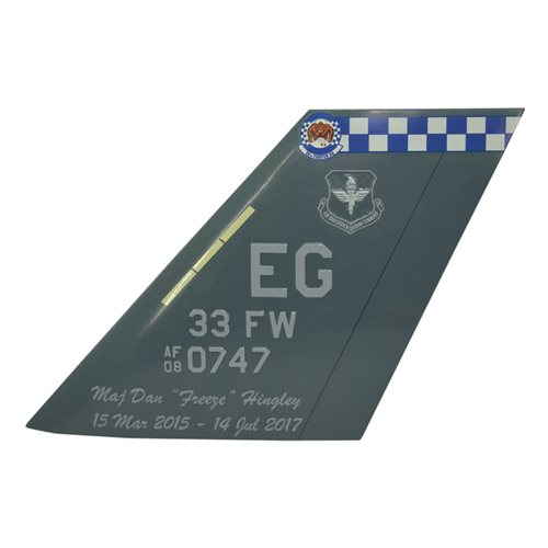 33 FW F-35 Lightning II Tail Flash