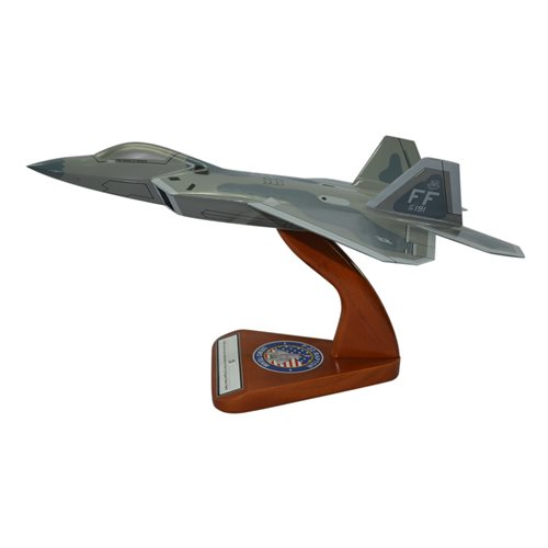 Design Your Own F-22 Raptor Custom Airplane Model - View 3