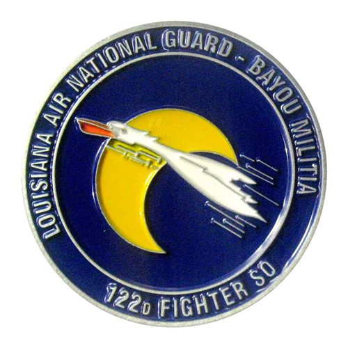 122 FS Challenge Coin - View 2