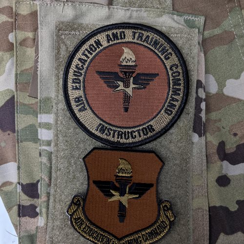AETC Instructor OCP Patch Bundle - View 2
