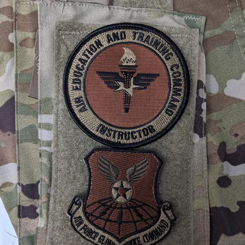 AETC Instructor OCP Patch Bundle - View 3