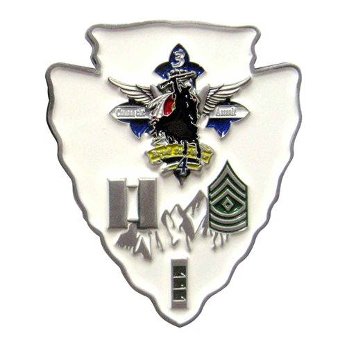 A Co 3-4 AVN Challenge Coin - View 2
