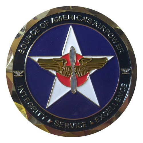 12 FTW Coin Custom Air Force Challenge Coin