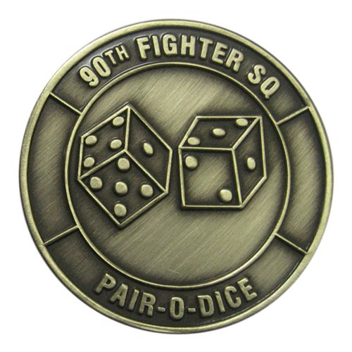 90 FS Custom Air Force Challenge Coin