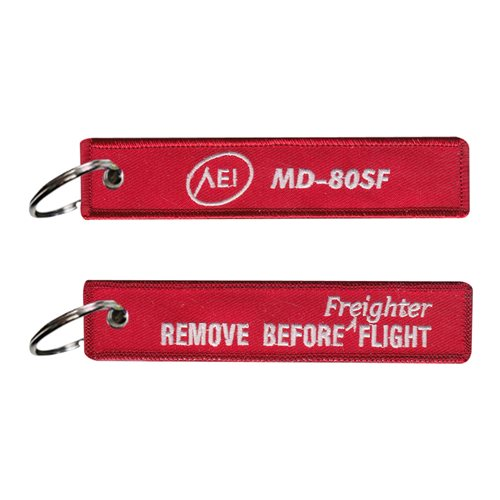 AEI MD-80SF Freighter Key Flag