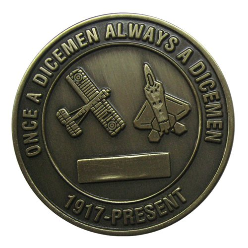 90 FS Challenge Coin - View 2