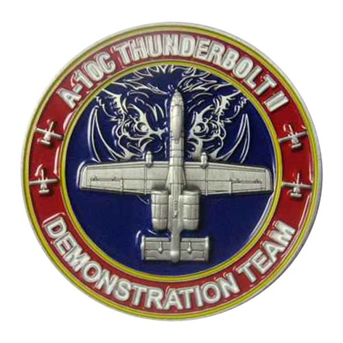 A-10 Demo Team 2020 Challenge Coin