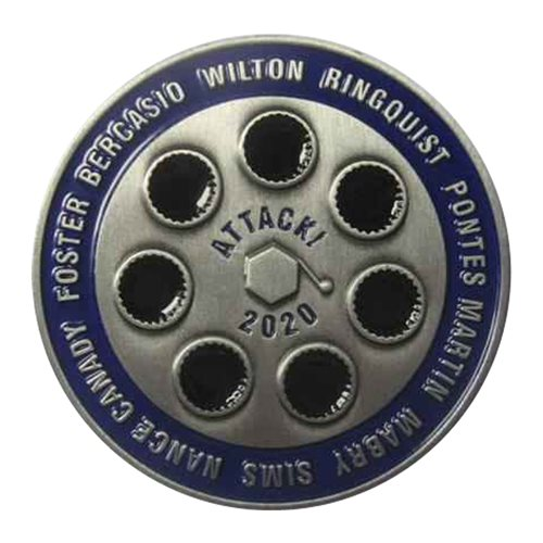 A-10 Demo Team 2020 Challenge Coin - View 2