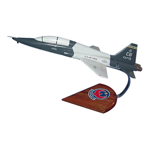 43 FTS T-38C Talon Custom Airplane Model