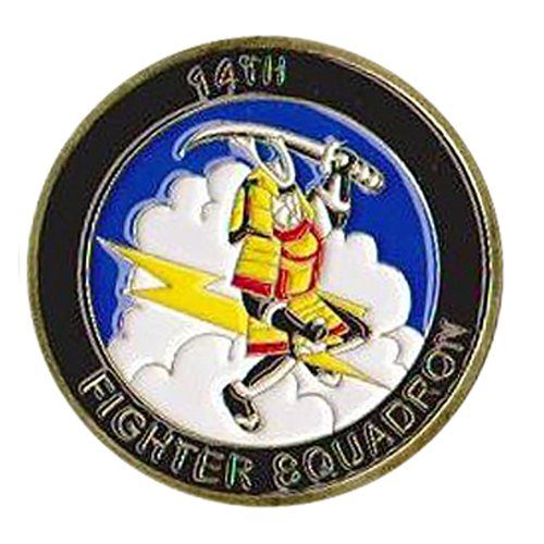 14 FS Coin Custom Air Force Challenge Coin - View 2
