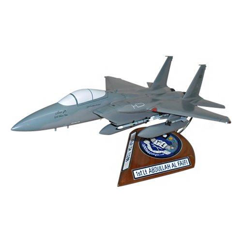 34 SQN RSAF F-15C Custom Airplane Model