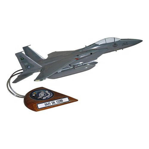 34 SQN RSAF F-15C Custom Airplane Model  - View 3