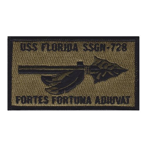 USS Florida (SSGN-728) NWU Type III Patch
