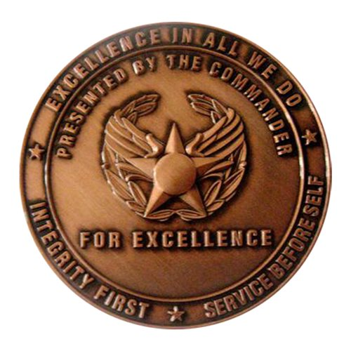 106 OSS Commander Challenge Coin - View 2