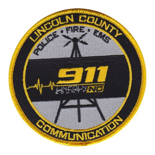 Lincoln County 911 Patch