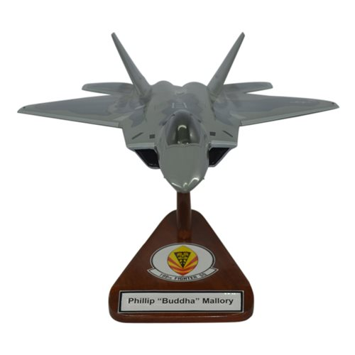 199 FS F-22 Custom Airplane Model  - View 4
