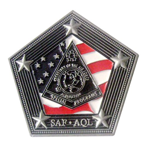SAF AQL Special Program Challenge Coin