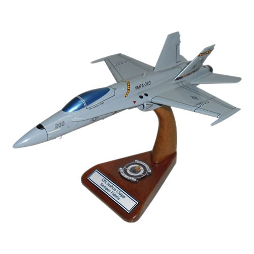 VMFA-323 F-18C Custom Airplane Model
