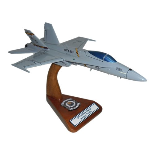 VMFA-323 F-18C Custom Airplane Model  - View 2
