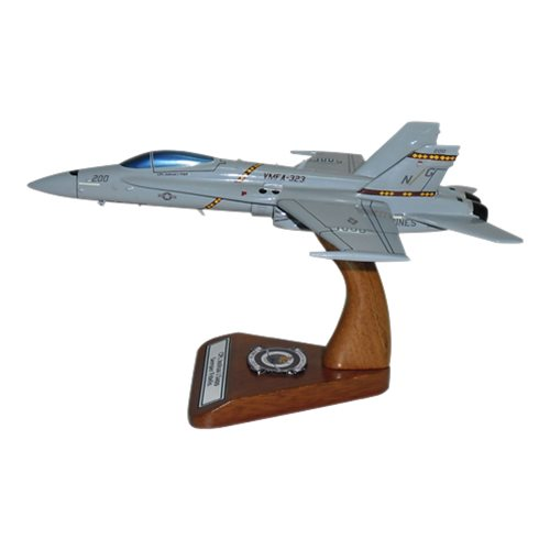 VMFA-323 F-18C Custom Airplane Model  - View 4