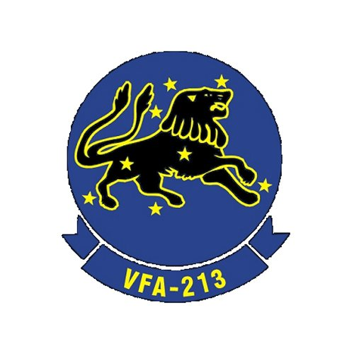 VFA-213 F/A-18E/F Custom Airplane Model