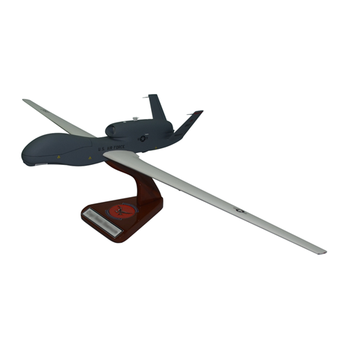 12 RS RQ-4 Global Hawk Model  - View 2