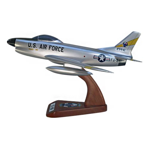 41 FIS F-86D Custom Airplane Model  - View 2