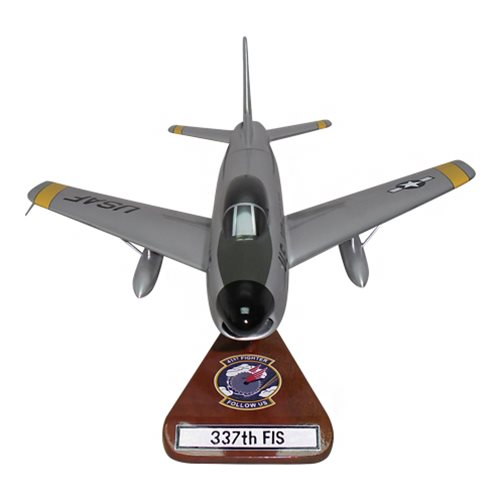 41 FIS F-86D Custom Airplane Model  - View 3