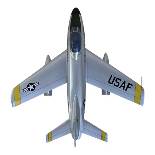 41 FIS F-86D Custom Airplane Model  - View 5