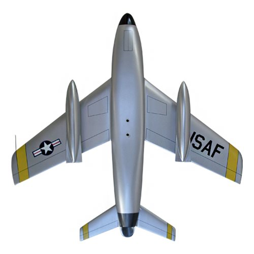41 FIS F-86D Custom Airplane Model  - View 6