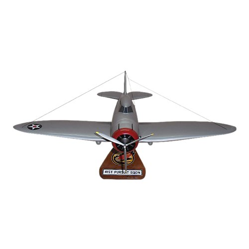 41 FTS P-35D Custom Airplane Model  - View 2