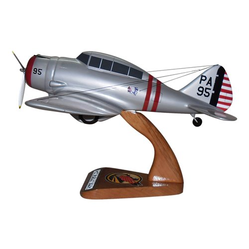 41 FTS P-35D Custom Airplane Model  - View 3