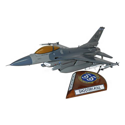 55 FS F-16C Custom Aircraft Model