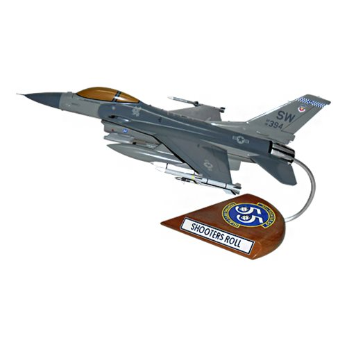55 FS F-16C Custom Aircraft Model  - View 2