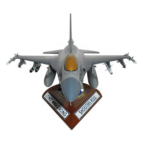 55 FS F-16C Custom Aircraft Model  - View 3