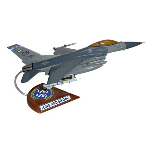 55 FS F-16C Custom Aircraft Model  - View 4